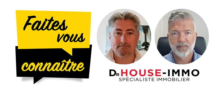 Interview de Stéphane Escobossa et Nicolas Blanchin, cofondateurs de Dr HOUSE-IMMO